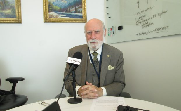 Vint Cerf on Constellations podcast